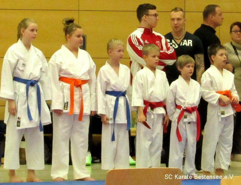 Der SC Karate Bestensee auf dem Sakura Cup 2016