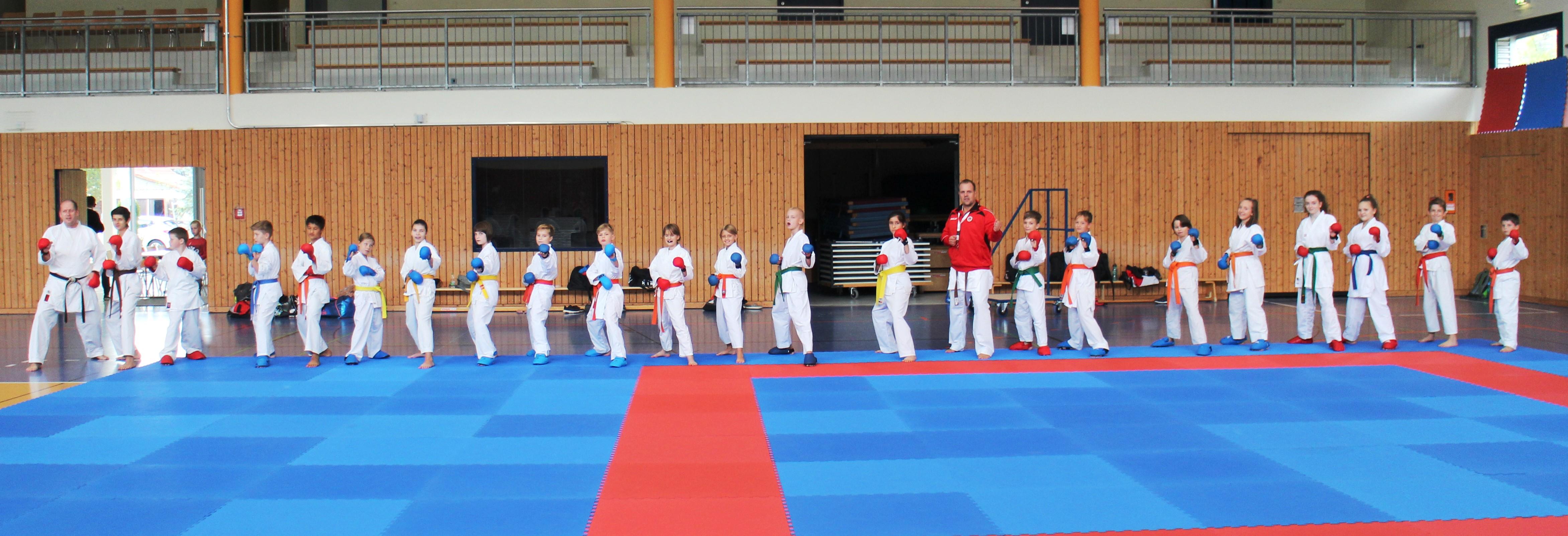 Gemeinsames Kumite-Training ist attraktiver